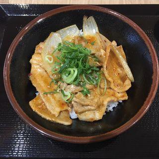 味噌豚丼(豚屋とん一 イオンモール岡崎)