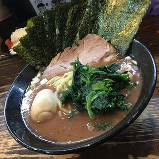 のり半熟味玉ラーメン(らーめん武道家 口 (クニガマエ))
