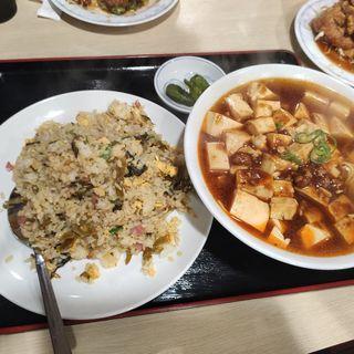 新品麺飯セット(大盛り)