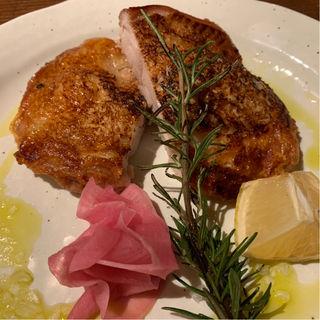 宮城鶏もも肉のディアボラ