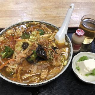 豚肉スタミナラーメン(錦乃 )