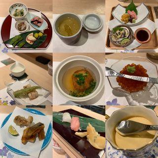 寿司割烹おまかせコース