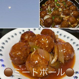 ミートボール甘酢あん(自宅)