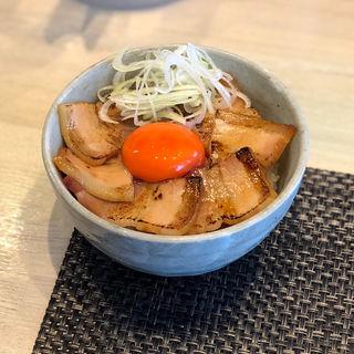 吊るし焼きバラ丼(宍道湖しじみ中華蕎麦 琥珀)