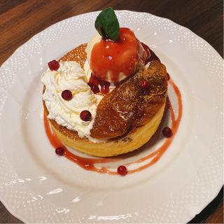 キャラメルリンゴスフレパンケーキ(シングル)