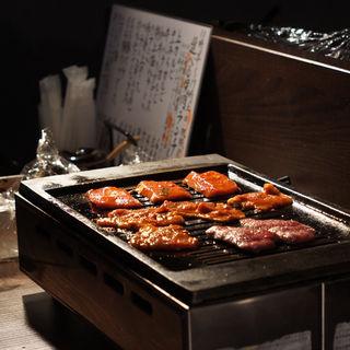 牛焼肉弁当(たれ山)