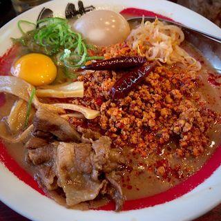 ピリ辛担々麺(徳島ラーメン 人生 ベガロポリス店 )