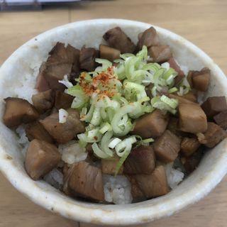 あぶり丼(麺や 江陽軒)