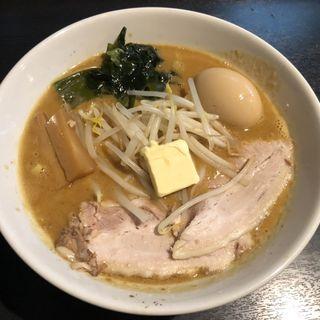 味噌カレー牛乳ラーメン(麺将 重厚軍団)