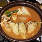 広島県産大粒牡蠣味噌鍋