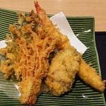 天ぷら(牡蠣味噌鍋御膳)