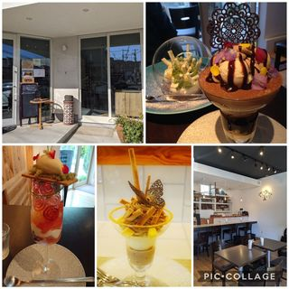 (dessert cafe HACHIDORI)
