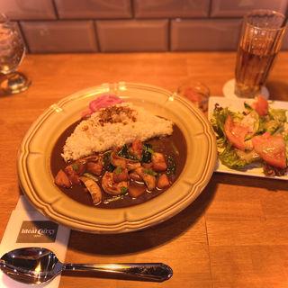 福井県 寺川商店 真イカと天使の海老のシーフードカレー(Ideal Curry Inaba)
