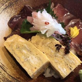 鮮魚の漬け丼