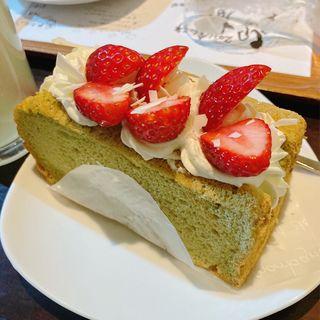 シフォンケーキ(Cafe Aroma)