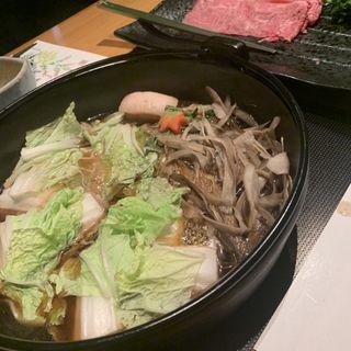 神戸牛すき焼きコース