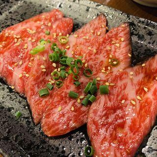神戸牛特選カルビ(タレ)(焼肉もとやま 本店 (ヤキニクモトヤマ))