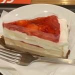 いちごのホワイトケーキ(スターバックス・コーヒー 仙台フォーラス店 )