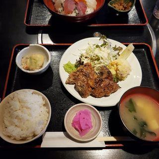ぶりの竜田揚げ定食(日替わり)(おとと )