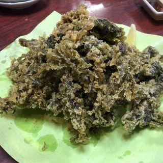 海苔の天ぷら(三四味屋 )