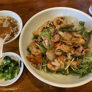 スタミナ焼肉丼(上海ブラッセリー (シャンハイブラッセリー))