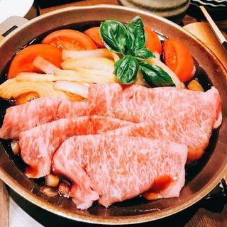 トマトすき焼き(三田ばさら )