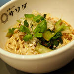 汁なし担々麺(大阪中華 サワダ飯店)