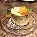オスプレッソ風味のヌガーセミフレッド