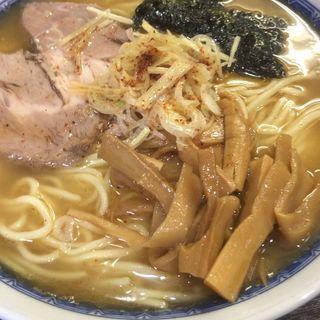 鶏豚骨魚介 noodle
