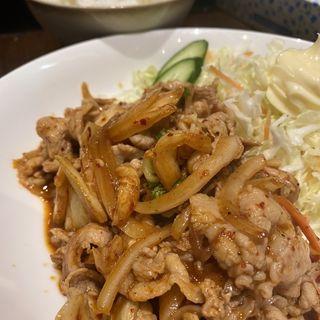 生姜焼き定食(麻布ラーメン 麻布十番店 )