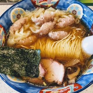 肉ワンタン麺