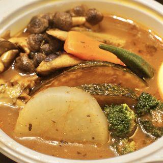 野菜ときのこスープカレー