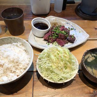 牛ハラミ焼き定食