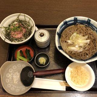マグロ漬け丼定食(そじ坊 御堂筋本町ビル店 )
