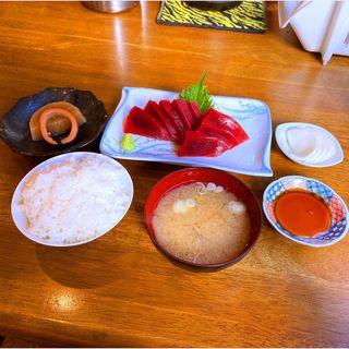 マグロ赤身定食