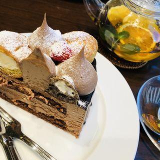 キングチョコレートケーキ(ハーブス ルミネ有楽町店 (HARBS))