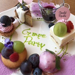 Tea party(ショコラ リパブリック 三宮店 (Chocolat Republic))