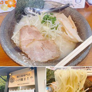 鶏白湯塩ラーメン(鶏白湯専門店つけ麺まるや 仙台西中田店)