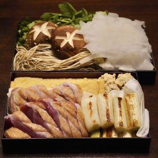 鴨セリ鍋(讃岐うどん 蔵之介 (くらのすけ))