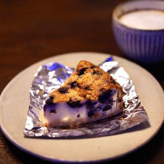 ブルーベリークランブルチーズケーキ(カフェ GOTO (カフェゴトウ))