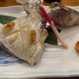 かんぱちカマ塩焼き
