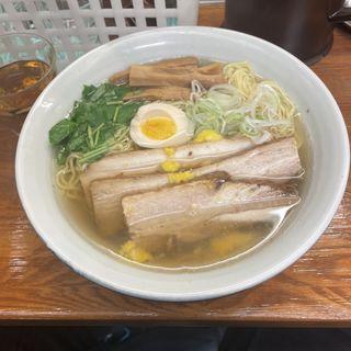 和風柚子焼豚麺(麺屋 ひょっとこ )