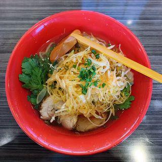 赤丸塩らー麺(らー麺 本丸亭 )