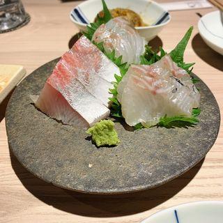 長崎直送鮮魚お造り(ふぐぶた酒場)
