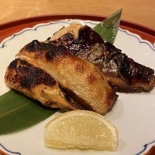 今日の炭火焼き 甘い味噌西京漬け  脂かれい