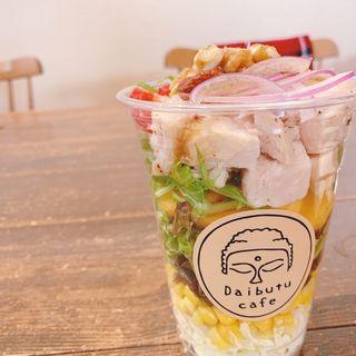 パワーサラダ(大仏カフェkoryo nara)