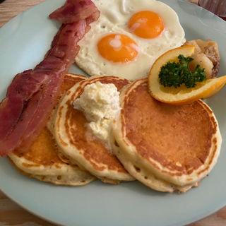 アメリカの朝ごはん(world breakfast allday harajuku)