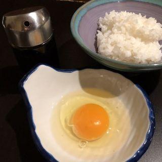 卵かけご飯(記念日-食と酒と祝いの店-)