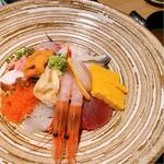 限定5食!海鮮10種の特上海鮮丼 or お刺身御膳