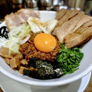 台湾まぜそばDX(麺や マルショウ なんばウォーク店)